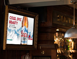 Digital Signage Bars Catering Hotels Hospitality - Focal Media